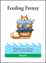 Feeding Frenzy Card